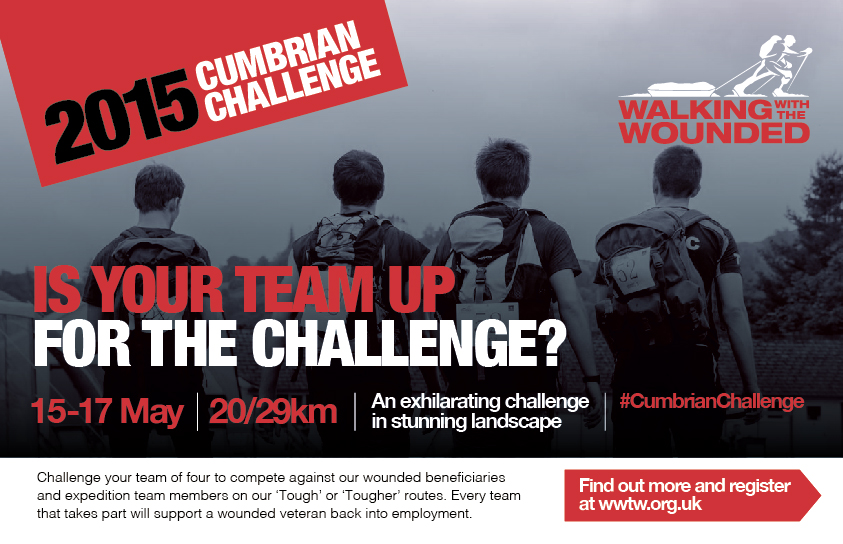Walking with the Wounded 2016 - Cumbrian Challenge